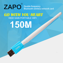 ZAPO 150Mbps wireless network card 802.11n/g/b wifi adapter Mini usb wi-fi receiver wi fi ethernet dongle lan Adaptador