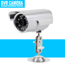 Bullet Camera 420TVL Waterproof Outdoor Security Support Micro 32GB SD/TF Card Night Vision DVR Recorder Indoor Camera