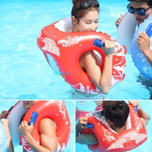 H851 8 word love handles adult men and women thick inflatable swimming laps life buoy floating ring child floating ring