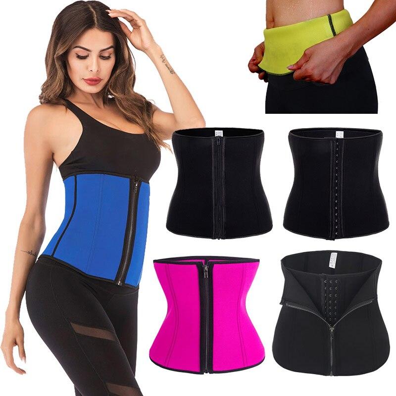 Women Shaper Belt Postpartum Tummy Trimmer Girdle Plus Size Waist Cincher Corset