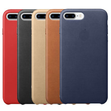 With Logo Luxury 7 Plus Leather Case Cover 7 Plus Phone Case Cover High Quality PU Leather Back Covers Cases for Men Women