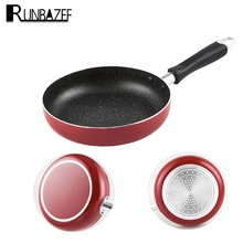 RUNBAZEF Non Stick Aluminum Alloy Flat Pan Coating and Induction Cooking Oven Dishwasher Ceramic Pot Cooker Tools Panelas Tefal