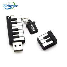 100% real capacity Retail Genuine Silicone Piano USB Flash Drive 512GB Thumb Pen drive Memory Stick Flash Disk 8G 16GB 32GB gift
