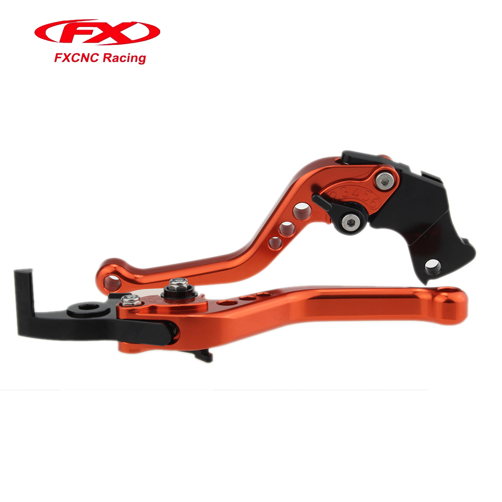 Fx Cnc Motorcycle Brake Clutch Levers Long&amp;Short 10 Colors  Aluminum For HONDA CB1000R 2008-2016 Motorbike Brake<br>