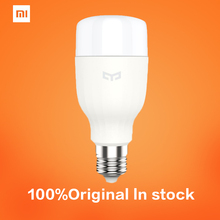 Xiaomi Mi Yeelight LED Bulb Wifi Remote Control Adjustable Brightness Eyecare Light Smart Bulb Smartphone App Light White Color