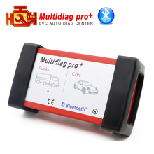 Multidiag Pro same as cdp tcs cdp plus bluetooth 2015.R3 keygn software Cars/Trucks OBD2 auto Scanner OBDII diagnostic tool(China)