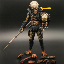 Predator 2 Ultimate City Hunter Aliens Vs Predator  Deluxe Edition PVC Action Figure Collection Model Toy Gifts Doll