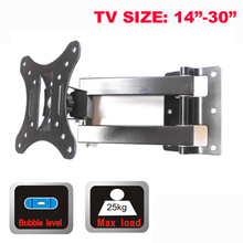 27inch 30inch 32inch retractable swivel LCD PLASMA tv bracket lcd wall mount led stand holder