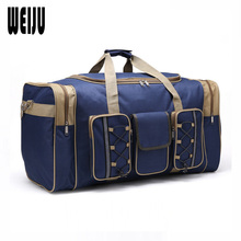 WEIJU 2017 Men Travel Bag Large Capacity Women Travel Luggage Duffle Bags Casual Shoulder Bag Handbag Mala Viagem YR0178(China)