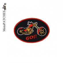 Scooter Exquisite Embroidered Patches Harley Motorcycle Riders Leather Jacket Personalized With The Standard DIY Yourself