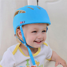 Helmet Kids Baby Safety Protective Helmet Cotton Children Hat Kids Ski Helmet Toddler Adjustable Safety Helmet For Walking(China)