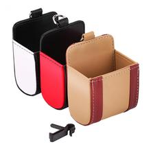 Car Auto Air Outlet Storage Pouch Bag Store Phone Box Holder Pocket Organizer Storage Pouchs Car Phone Boxes new(China)