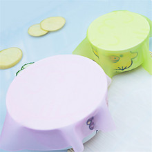 4 pcs/Lot Silicone Mat Lid Bowl Reusable Cover Food Seal Container Refrigerator Preservative Film Cook Kitchen 20*20cm