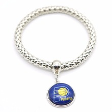 2017 New Basketball Charm Indiana Pacers Bracelets&Bangle for Women Super Bowl Fans Jewelry