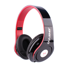 Desxz X8 Headsets Headphone Folding Portable Game Stereo with MIC 3.5mm Audio Cable for Iphone 4 4S 5 5C 5S 6 Phone PC Tablet