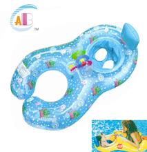 Baby Seat Float Ring Newborn Swim Trainer Mother And Child Swimming Circle Play Swim Rings Inflatable Flamingo Baby Pool Float
