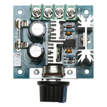12V/24V/30V/40V Electrical DC Motor Speed Governor PWM Controller 10A 50V 1000uF Large Capacitor Home Electrical Equipment