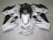 Fairing kit for Kawasaki Ninja fairings 250r 2008 2009 2010- 2014 injection molding EX250 08-14 ZX250 white black bodywork NZ41