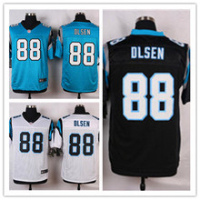 Mens 88 Greg Olsen Jersey 2017 Rush Salute to Service High Quality Football Jerseys(China)
