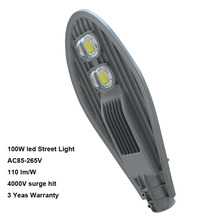 LED street light 100w AC 85-265V 130-140 lm per watt(China)