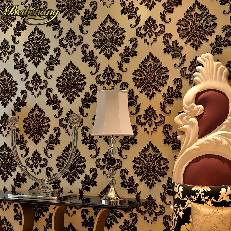 beibehang Papel de parede Sprinkle gold murals damask wall paper roll modern mural wallpaper for walls 3 d Home Decoration papel<br>