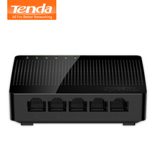 Tenda SG105 5-Ports Gigabit Ethnet Network Switch, LAN Hub, Auto MDI / MDIX, Full/Half Duplex Exchange,15K Jumbo, Plug and Play(China)