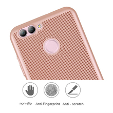 Case For Huawei Nova 2 Hard Plastic PC Ultra Thin Slim Protective Hard Impact Case For Huawei Nova2 Heat Radiation Back Cover(China)
