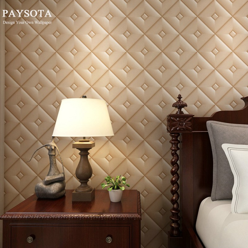 2017 New Arrival Real Papel De Parede Paysota Luxury Faux Leather 3d Wallpaper For Wall Paper Roll Background Wallcoverings <br>