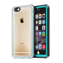 For iPhone 6 Plus Waterproof Case Fingerprint Swimming Diving Cover Life Water Dust Proof Snowproof Case For iPhone 6s Plus(China)