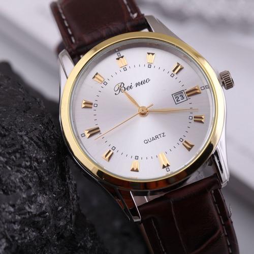 Relogio Masculino Luxury Brand  Mens Quartz Dress Wrist Watch Male Casual Clock Leather Strap Military Watches<br><br>Aliexpress