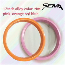 Sema Alloy Color Rim 12inch 203 balance bicycle cheap rims 30mm width 20 hole red black orange pink blue green for choose
