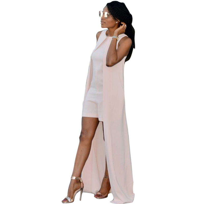 Rompers Womens Jumpsuits For Bodysuit Women 2016 Bodycon Long Jumpsuit Overalls Playsuits Macacao VS Pink monos largos de mujer