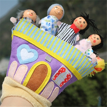 Children Characters Glove Puppet Toy Cloth Hand Dolls Kid Cute Big Size Educational Toy For Girls Reborn Babies Bedtime Stories
