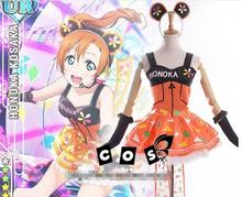 Love Live Kousaka Honoka Shining Stars Dress Video Games Girls Cosplay New Skirt free shipping A(China)