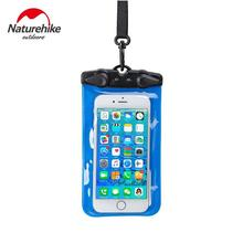 Naturehike Waterproof Bag Diving Rafting Sealed Mobile Phone Bag Swimming Pouch Cases Cover for iPhone Samsung Huawei Xiaomi(China)