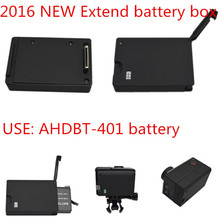 2016 New Go pro Accessories Mount Extend Battery Box For Gopro Hero 4 AHDBT-401 Battery Mount For Gopro Hero3 3+ 4 Camera Mounts(China)