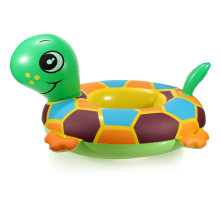 tortoise Baby Child Kids Rubber Rings Inflatable Floating Swimming Pool Raft Chair Seat Float Swim Ring Swimming Accessories(China)