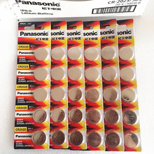 30 X original brand new battery for PANASONIC cr2025 3v button cell coin batteries for watch computer cr 2025