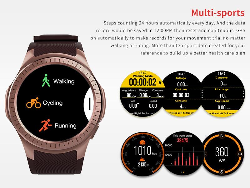 GPS Bluetooth Smart Watch for Sports 9