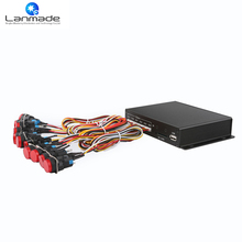 Lanmade OEM/ODM 12 pcs push button video player hd box media player classic loop(China)