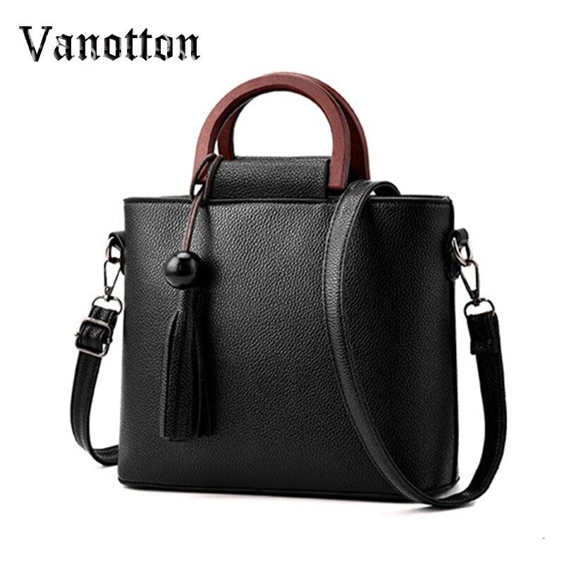 Female Package 2016 New Tide Women Solid Color Handbag Bag Fashion Pu Leather Large Bag Shoulder Bag Ladies Messenger Bag<br><br>Aliexpress