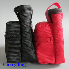 Personal Vaporizer Holder Keychain Carry Pouch Flannelette ecig electronic cigarette Carrying Bag for mod box(China)