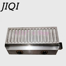 Commercial Use gas corn hot dog waffle machine waffle stick for 15 pcs EU US adapter plug Stainless Steel Holder Stand Baker