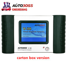 Original SPX autoboss v30 auto scanner Free Update Online better than launch x431 diagun without plastic box