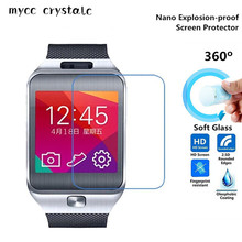 Nano Explosion-proof (Soft Glass) Clear Screen Protector Front Protective Film for Samsung Galaxy Gear 2