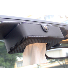 Car Sun Visor Type Tissue Box ForFor BMW E46 E52 E53 E60 E90 E91 E92 E93 F30 F20 F10 F15 F13 M3 M5 M6 X1 X3 X5 X6 1 2 3 Series(China)