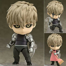 10CM One Punch Man Genos Nendoroid Action Figure 645# Genos Doll PVC Toy Brinquedos Anime figure Super Movable Edition(China)