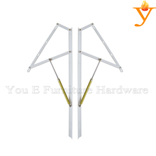 900mm Length Folding Gas Lift Mechanism Hinge For Sofa Or Lift And Push Down Bed A02