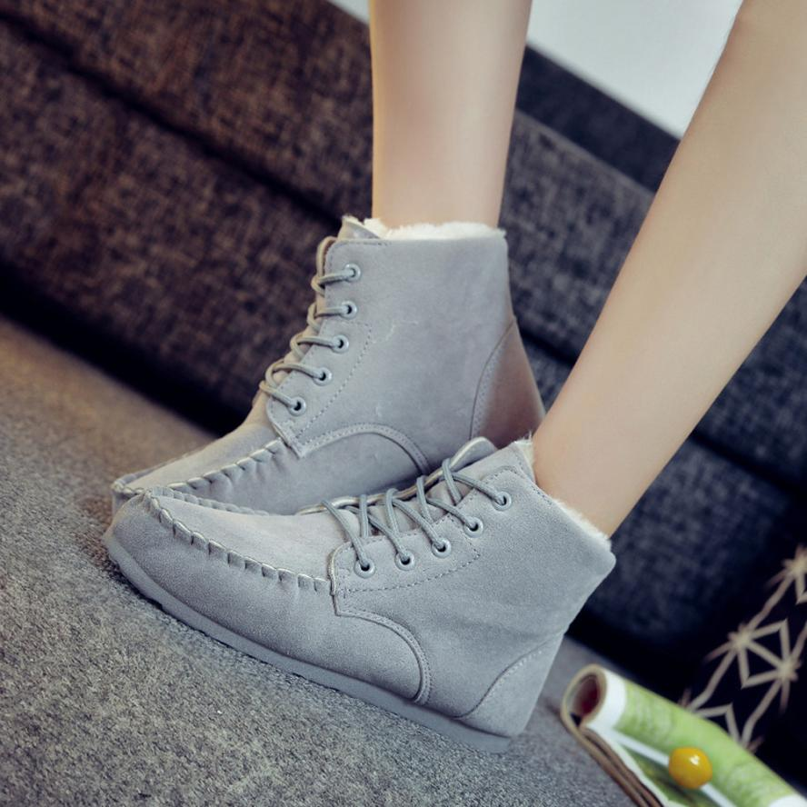 Fahion New Classic Womens Warm Shoes Snow Boots Cute Fashion Winter Short Boots Best Gift Drop Shipping Dec29<br><br>Aliexpress