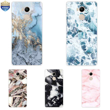 "For Xiaomi Redmi 3 / 3 Pro Shell For Redmi 4 / 4 Pro Phone Case 5.0"" For Hongmi 4A Coque Soft TPU Marble Lines Design Painted"